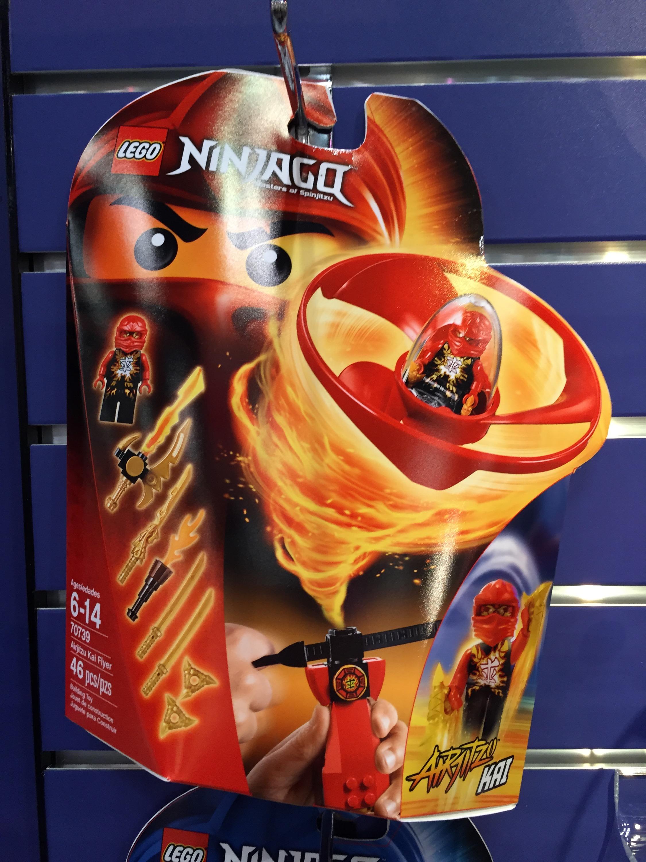 Lego ninjago summer 2015 sets airjitzu flyers photos - Ninjago lego kai ...