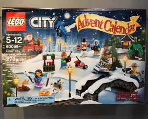 60099 LEGO City 2015 Advent Calendar Box