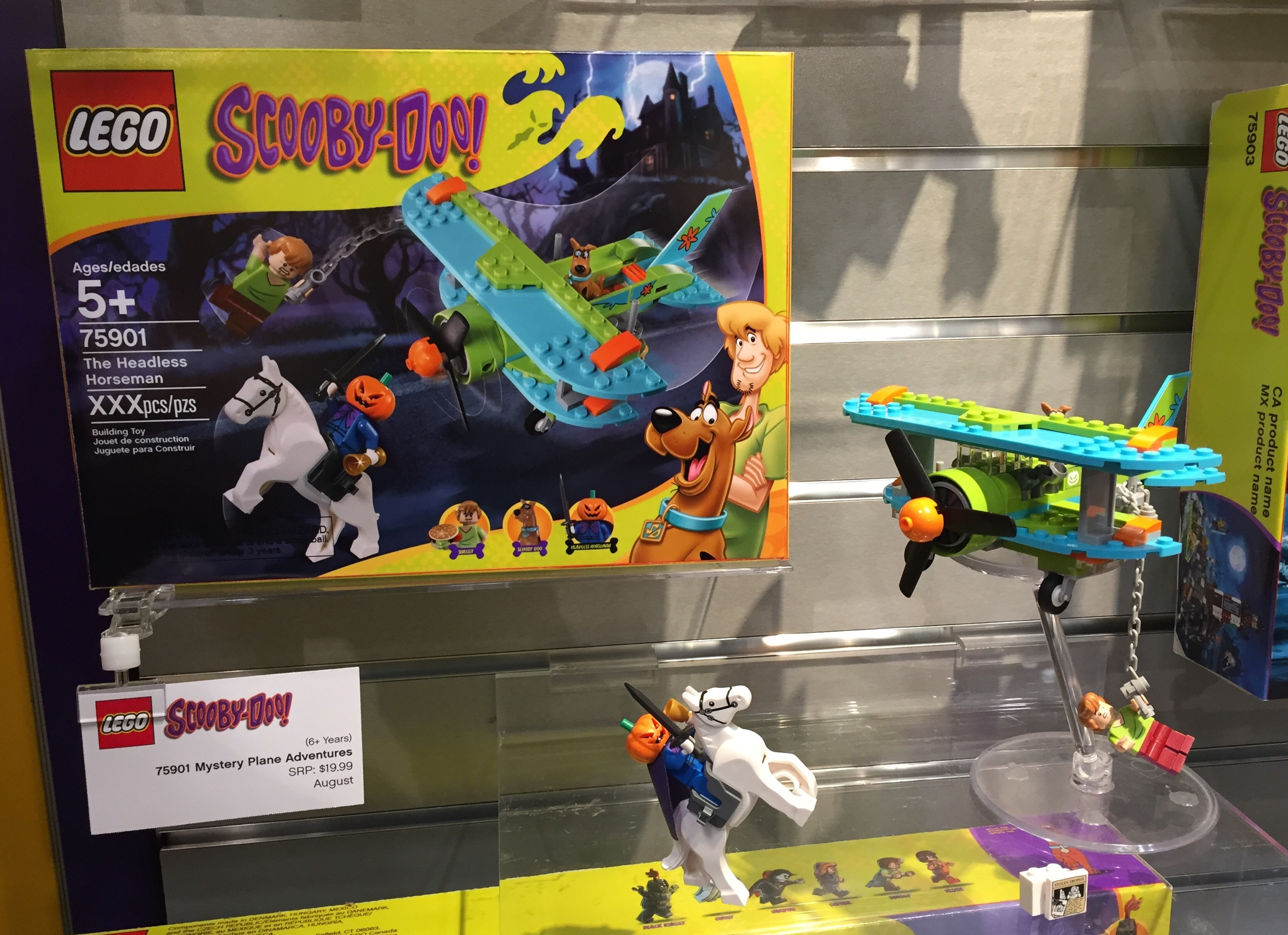 Scooby Doo The Mystery Plane Adventures 75901 Scooby Doo