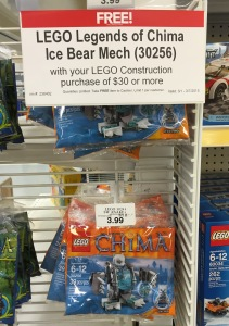 LEGO Chima Iceklaw's Mech 30256 Promo Set Free 2015
