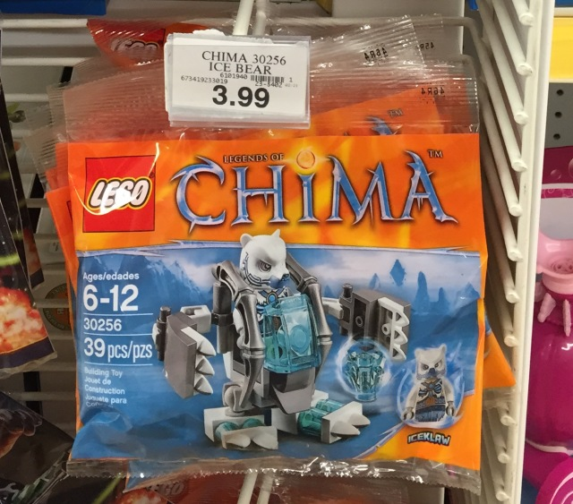LEGO Chima Ice Bear Mech Polybag at Toys R Us