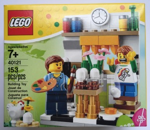 LEGO Easter Eggs Painting 40121 Box