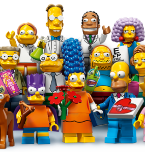 71009 LEGO Simpsons Series 2 Minifigures Revealed