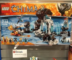 LEGO Chima Summer 2015 Sets Mammoth's Frozen Stronghold