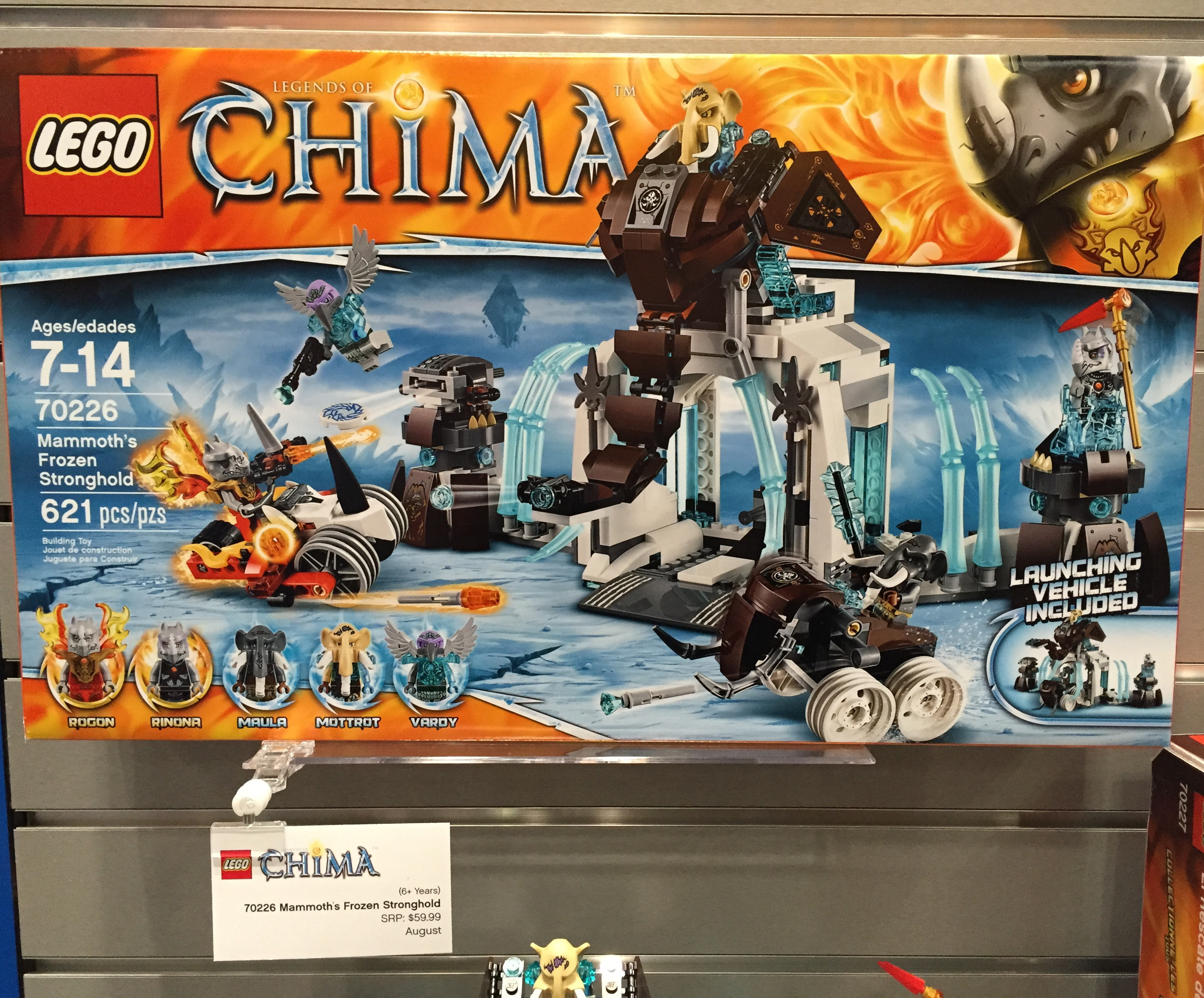 LEGO Chima Mammoth's Frozen Stronghold Summer 2015 Set