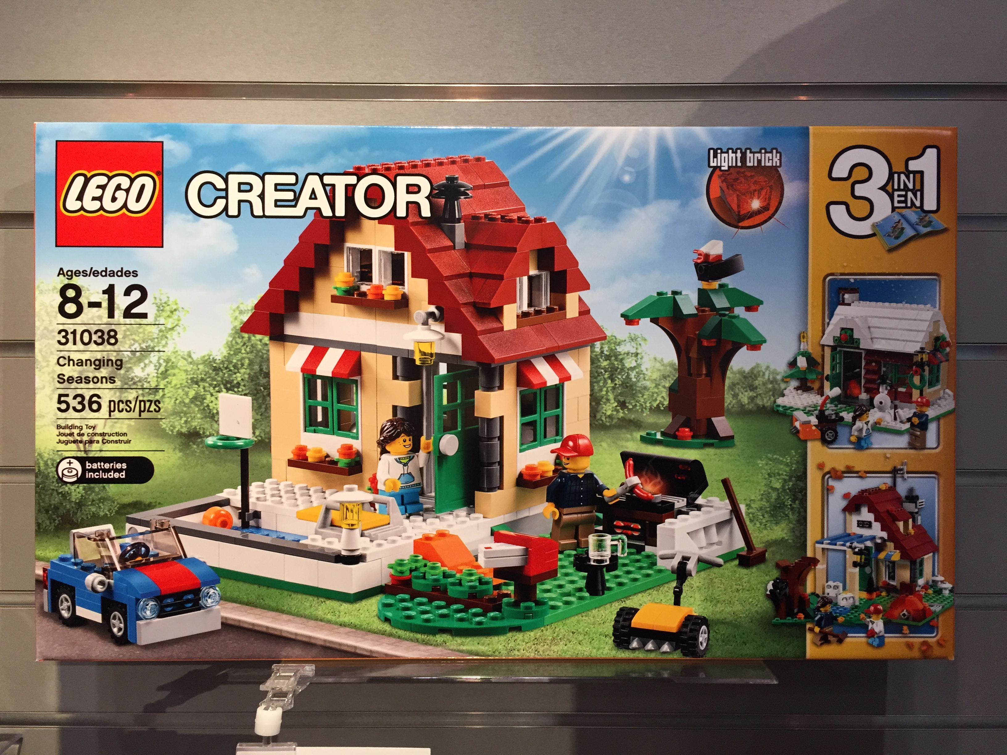 Lego Changing Seasons 31038 Summer 2015 Set Preview Bricks And Bloks