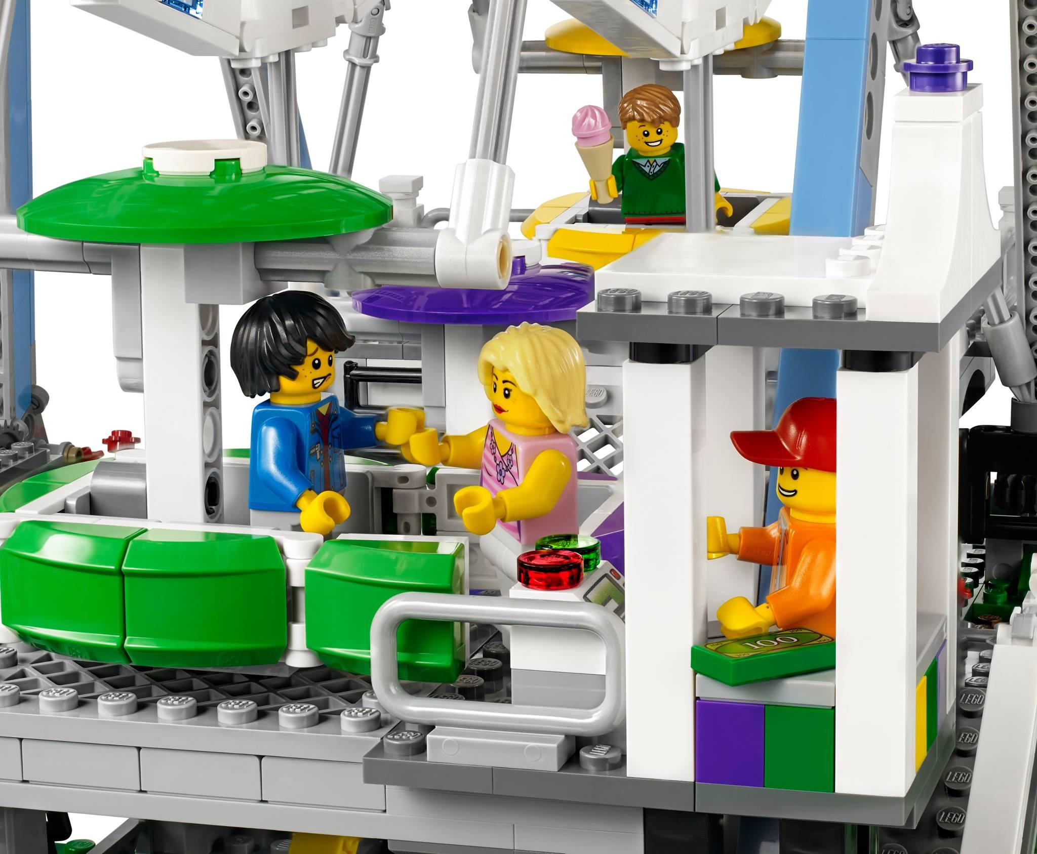 lego ferris wheel fully revealed w photos video. Black Bedroom Furniture Sets. Home Design Ideas