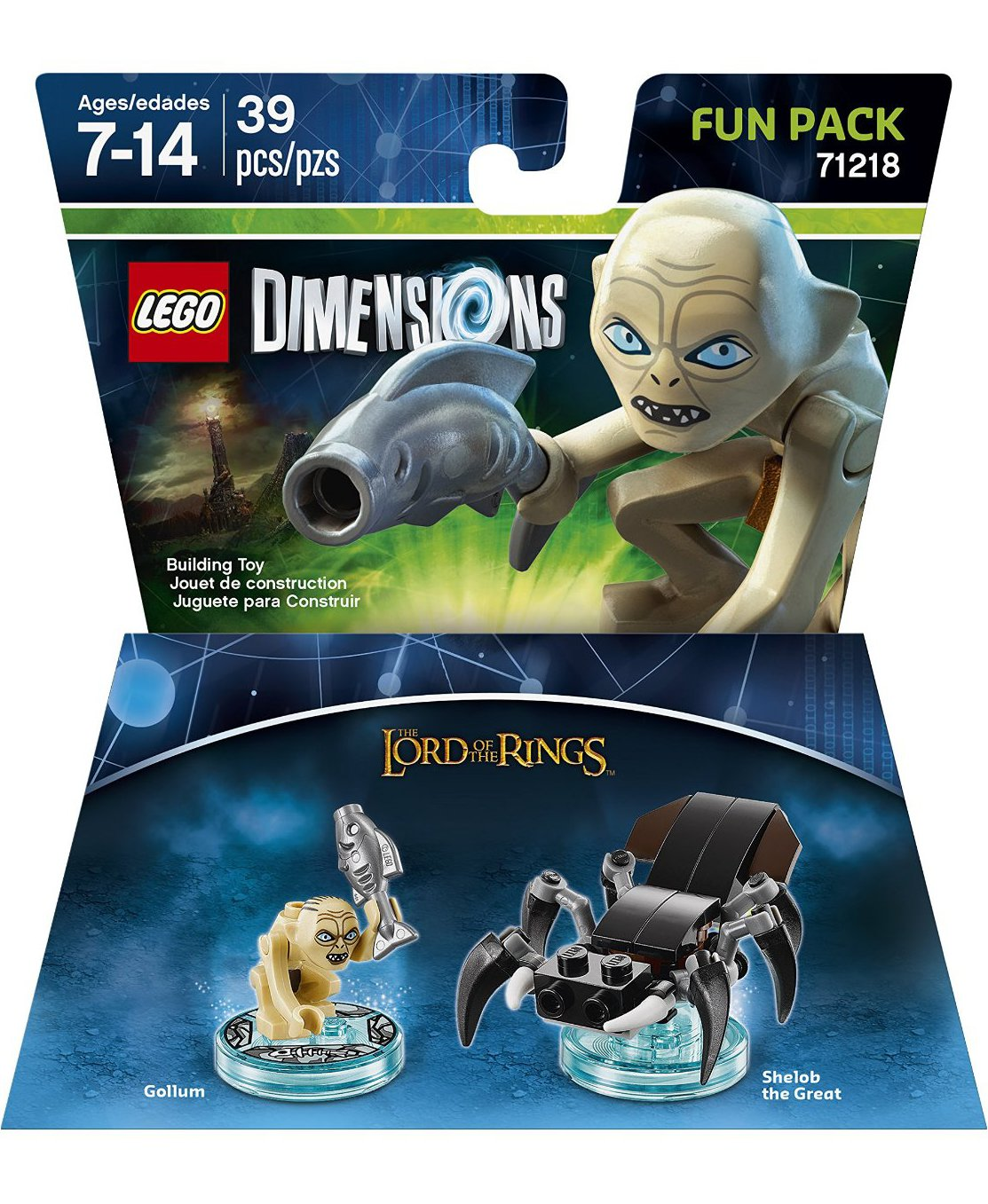 Lego Dimensions Legolas Gollum Amp Gimli Sets Preview