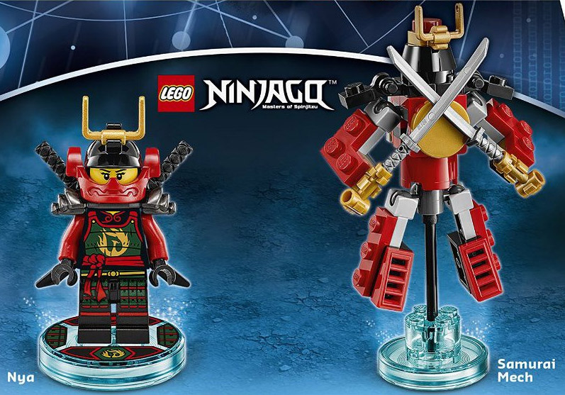 Ninjago is being integrated with iconic brands like back to the future