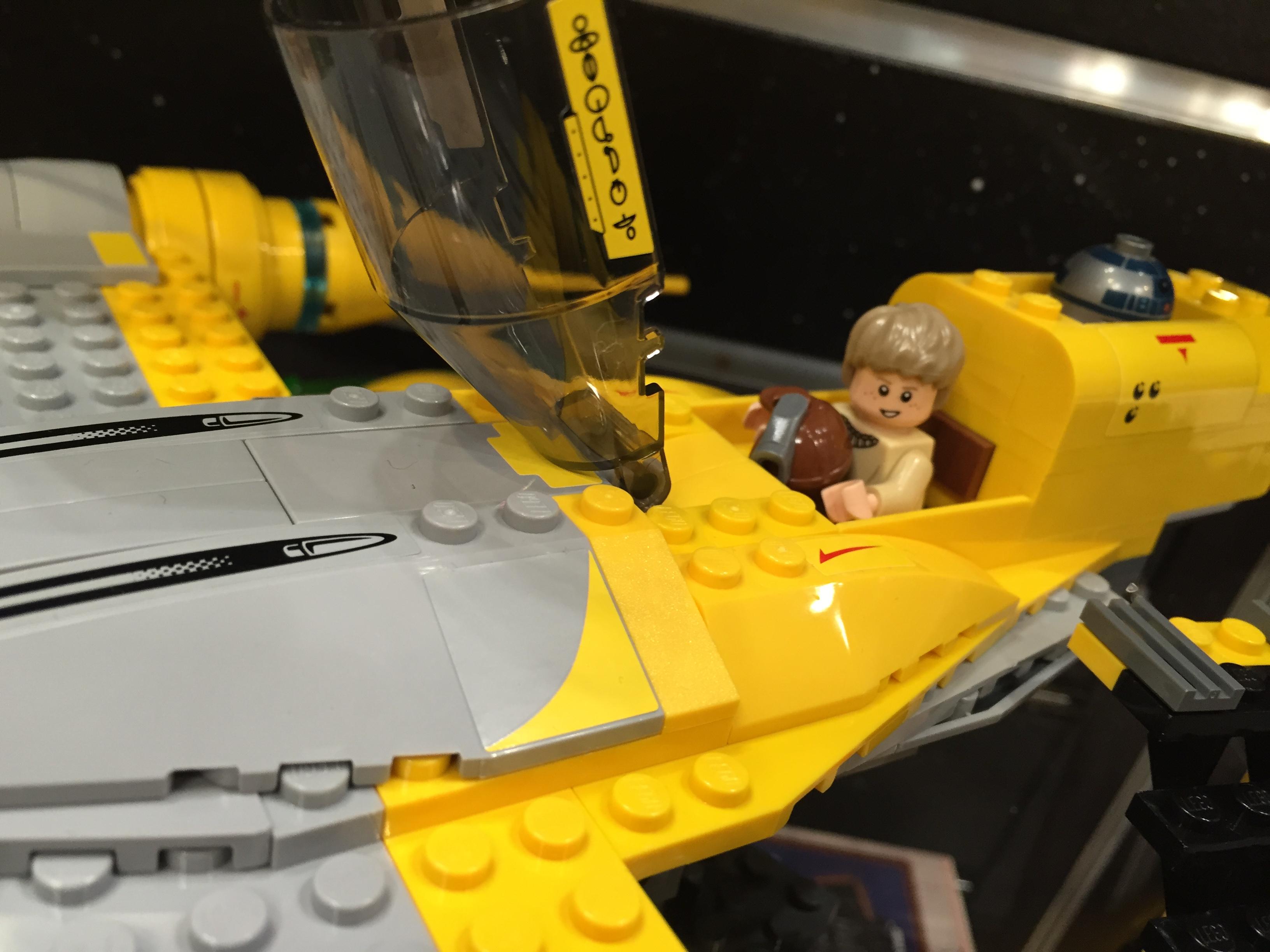 Lego star wars summer 2015 sets naboo starfighter preview - Lego star wars vaisseau anakin ...