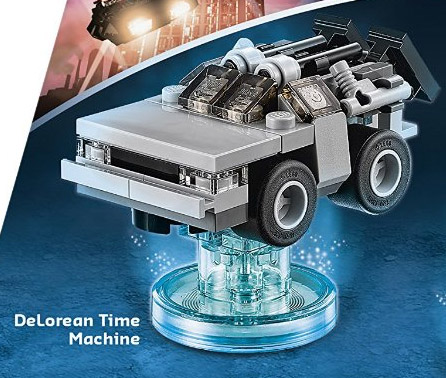 Lego Dimensions Back To The Future Level Pack Revealed