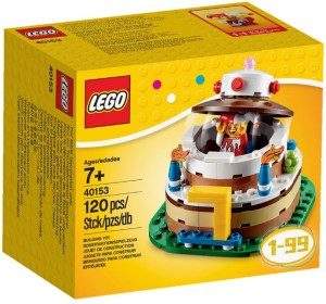 40153 LEGO Birthday Cake Set Box