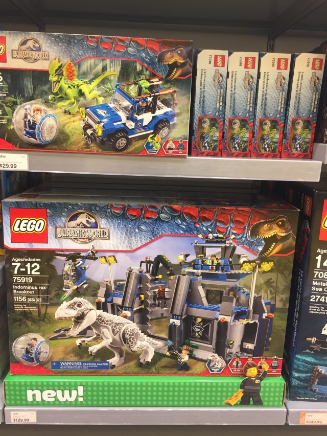 LEGO Jurassic World Sets Released Online & In Stores! - Bricks and Bloks