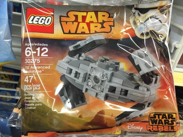 LEGO Star Wars TIE Advanced Prototype 30275 Set Free Promo