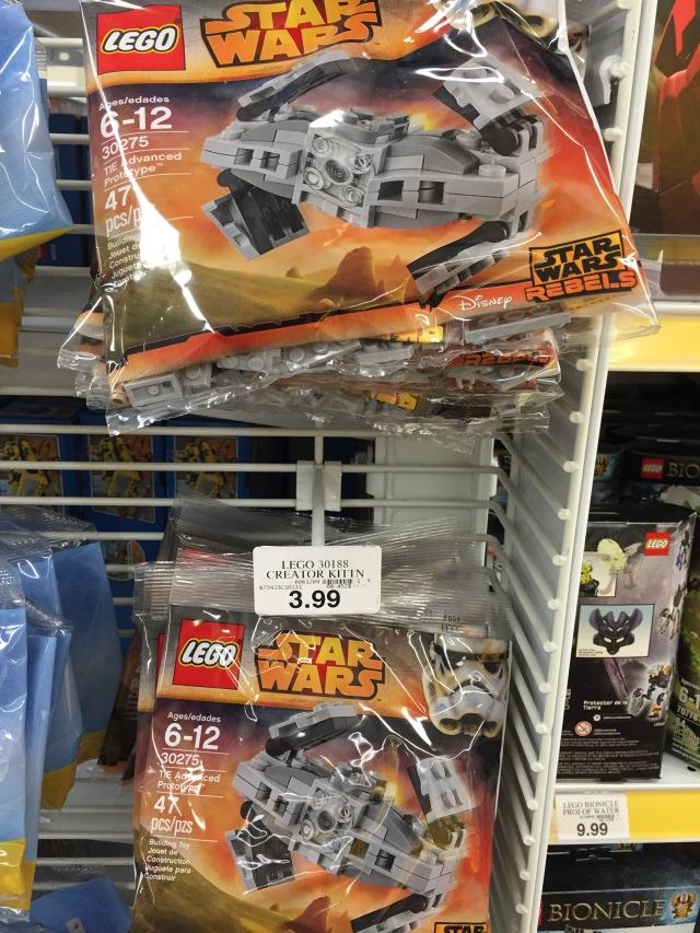 30275 LEGO Star Wars TIE Advance Prototype Promo Polybags Toys R Us