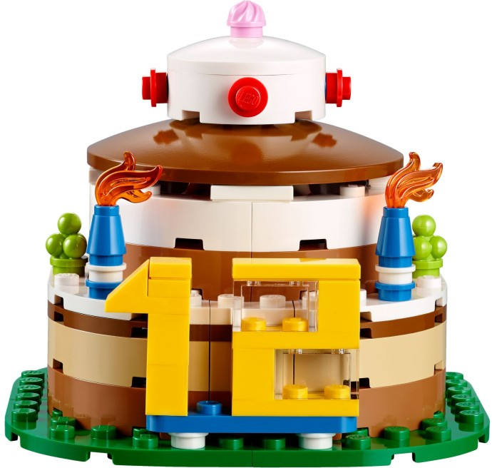 LEGO Birthday Cake 40153 2015 Summer Set Revealed