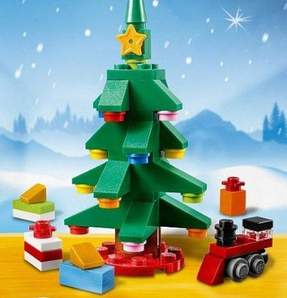 LEGO Christmas Tree 2015 Seasonal Set