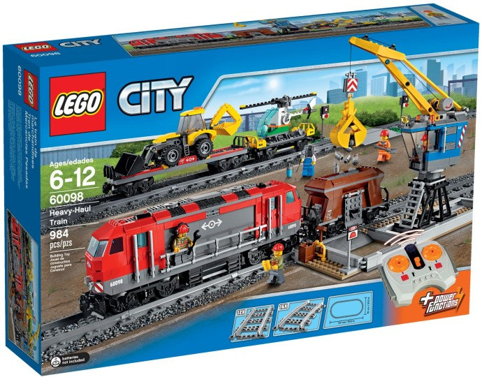 LEGO City Heavy Haul Train 60098 Set Photos Preview! - Bricks and Bloks