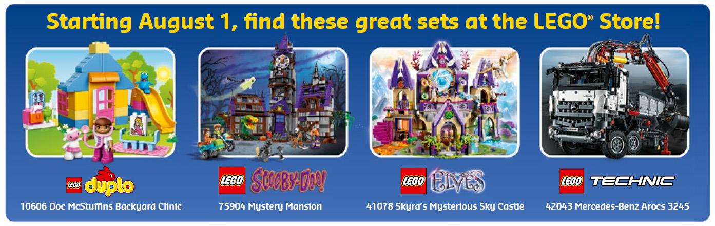 August 2015 LEGO Store Calendar: Free Promos & Events! - Bricks ...