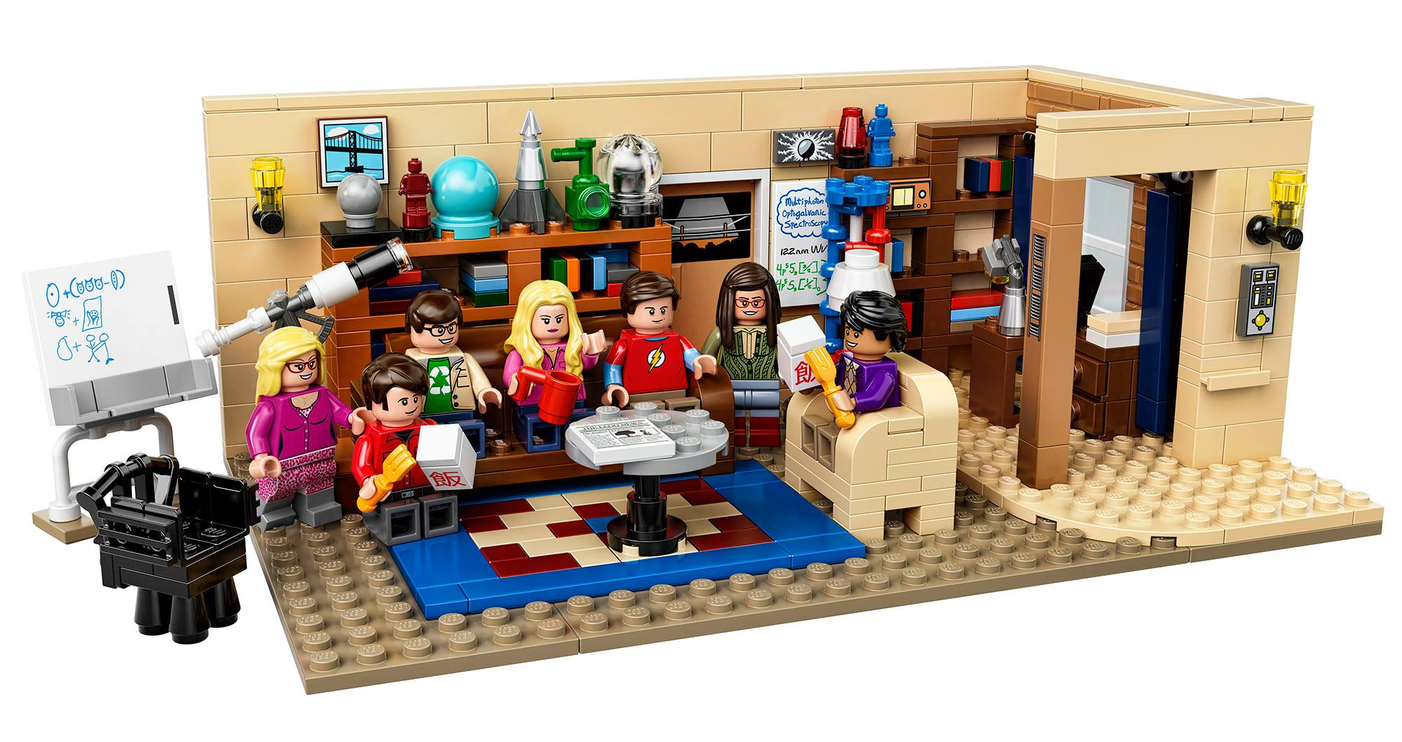 Lego Big Bang Theory Set 21302 Revealed Amp Photos Bricks
