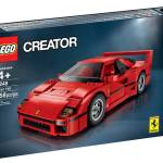 LEGO Ferrari F40 10248 Set Revealed + Photos & Video!
