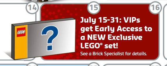 LEGO Ferrari F40 10248 VIP Early Access July 2015