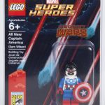 SDCC 2015 LEGO All-New Captain America Minifigure!