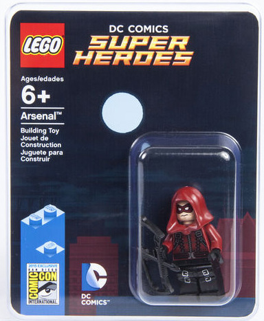 Sdcc 2015 Lego Arsenal Minifigure Exclusive Red Arrow