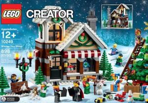 2015 LEGO Winter Toy Shop 10249 Box