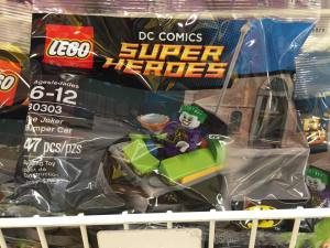 30303 LEGO Joker Bumper Car Set Packaged at Toys R Us US