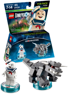 71233 LEGO Dimensions Stay Puft Marshmallow Man Minifigure Terror Dog
