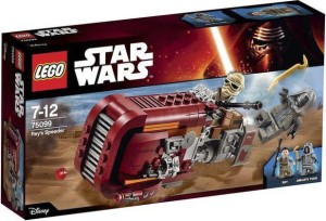 75099 Rey's Speeder LEGO Star Wars Episode VII Box