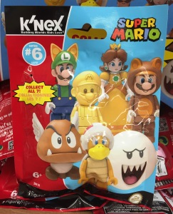 Super Mario K'Nex Series 6 Blind Bags Codes