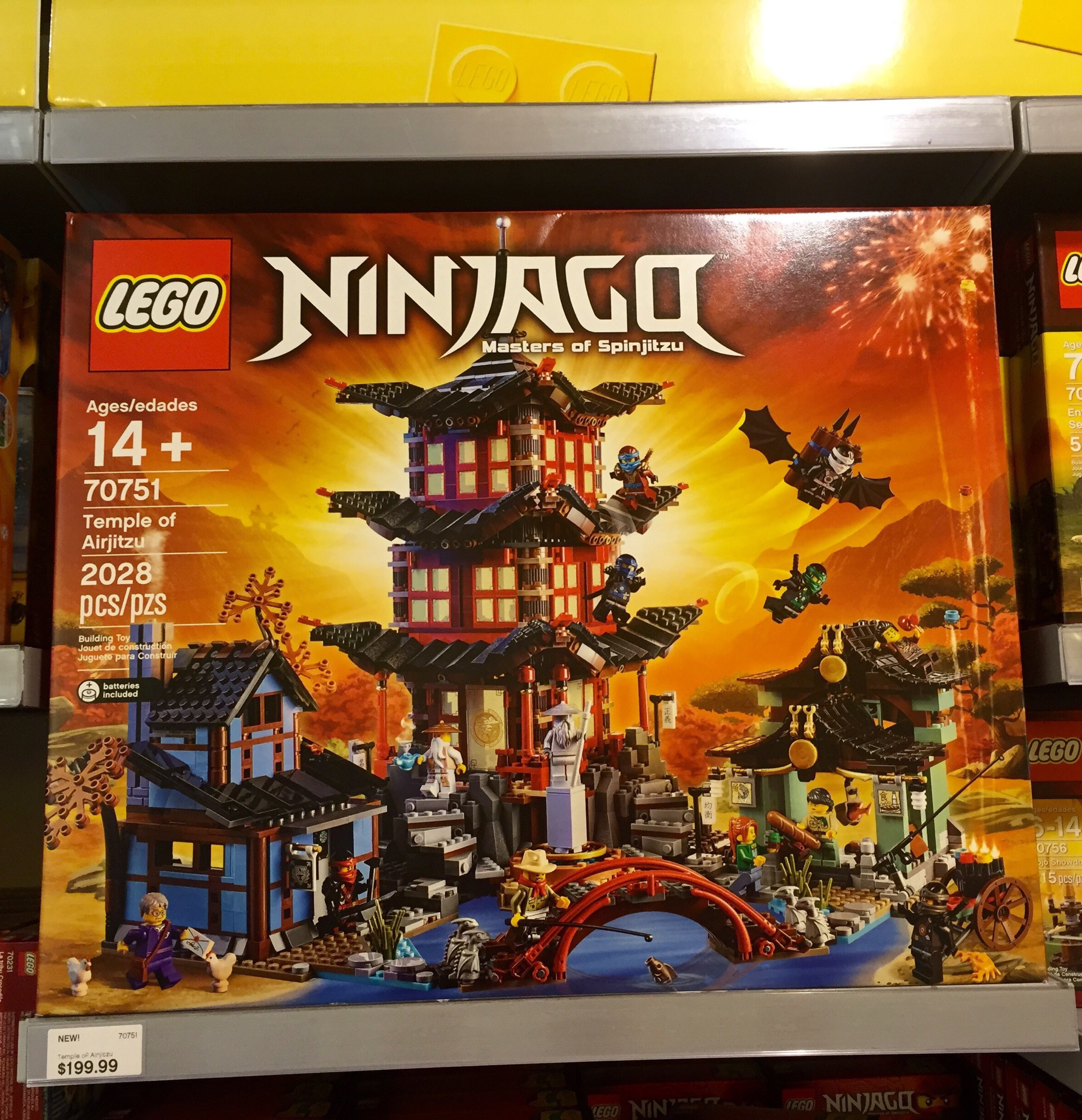 Lego Ninjago Temple Of Airjitzu Released Amp Photos