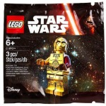 LEGO Star Wars Episode VII C-3PO Minifigure Polybag Revealed!