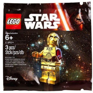 LEGO Star Wars Episode VII C-3PO Minifigure Polybag