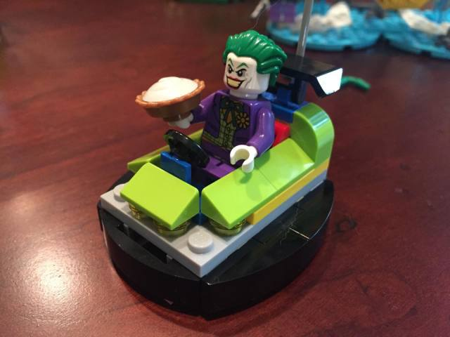 LEGO DC Super Heroes Joker Bumper Car Set Fully Built