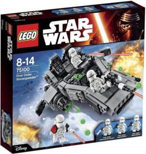 LEGO Star Wars Episode VII First Order Snowspeeder 75100 Box