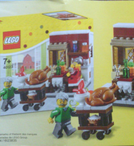 LEGO Thanksgiving Feast 40123 Set Revealed