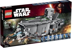 75103 LEGO Star Wars First Order Transporter Box