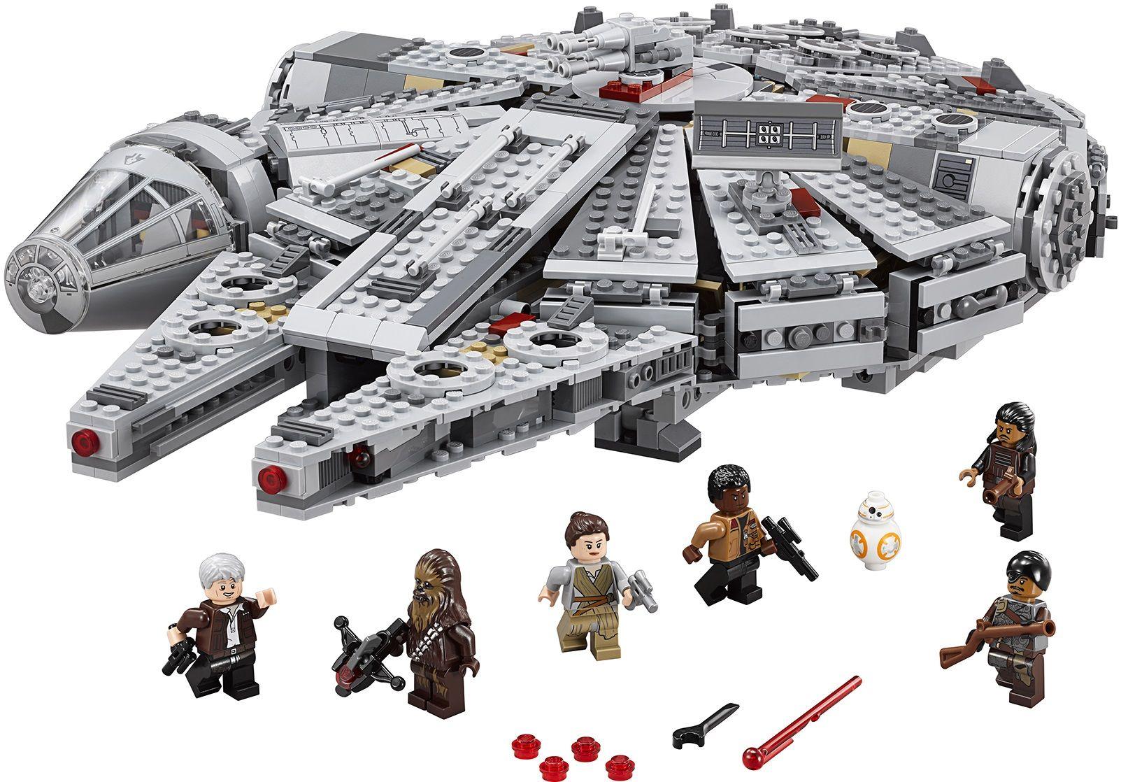 Pics Photos Lego Star Wars Millennium Falcon
