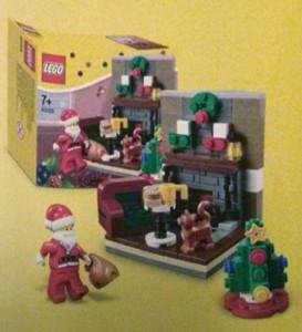 LEGO 40125 Santa's Visit Seasonal Vignette Set 2015