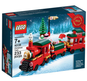 LEGO 40138 Holiday Train Set Box