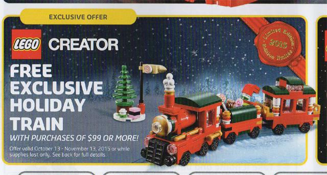 LEGO Christmas Train 40138 Promo Set Hi-Res Photos! - Bricks and Bloks