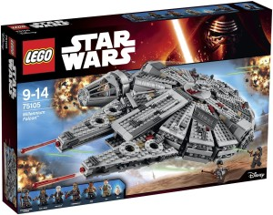 LEGO Star Wars Episode VII Millennium Falcon 75105 Box