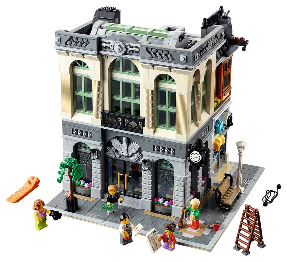 LEGO Brick Bank 10251 Modular Building 2016 Set Revealed ...