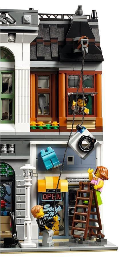 Bank Robbery at the LEGO Brick Bank