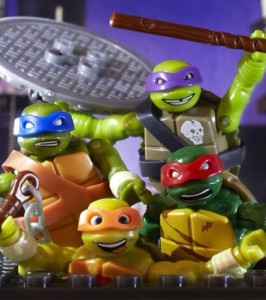 Teenage Mutant Ninja Turtles Mega Bloks Figures Revealed