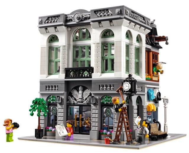LEGO 10251 Brick Bank Modular Building 2016 Set