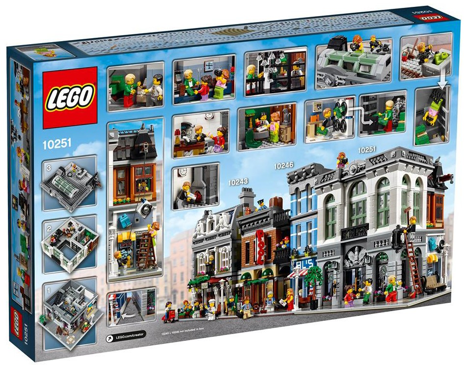 Modular Buildings Lego Box Collections